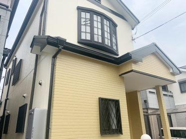 堺市 I様邸 外壁・屋根塗装、防水工事事例