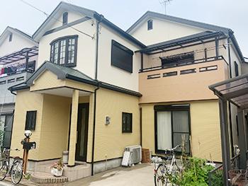 堺市I様邸 外壁・屋根塗装、防水工事事例