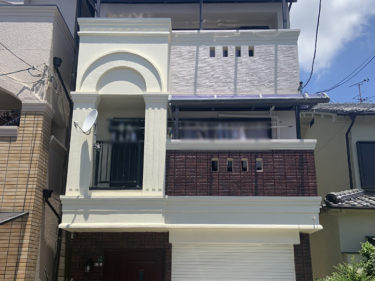 生野区 S様邸 外壁屋根塗装事例