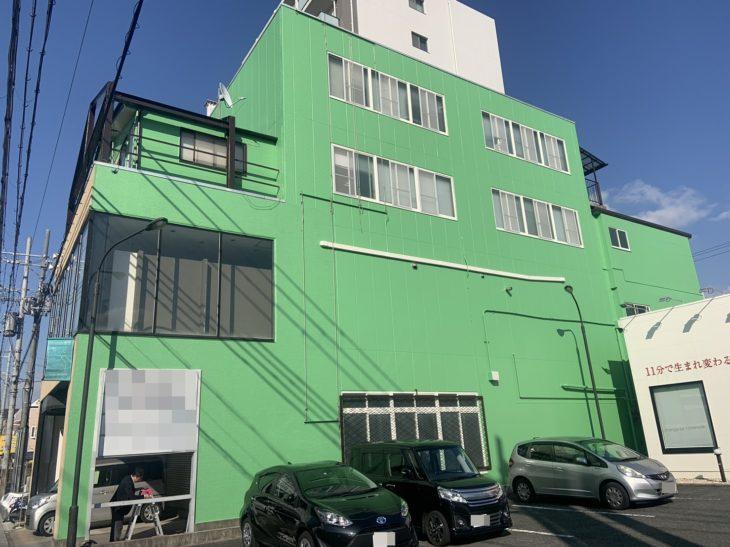 堺市Mビル様 ビル外壁塗装工事事例