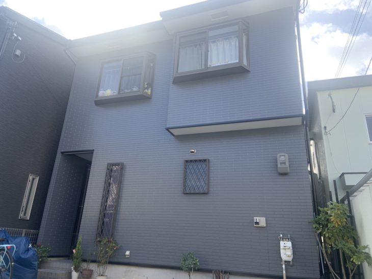 生野区S様邸 外壁・屋根塗装、シーリング打ち替え工事事例
