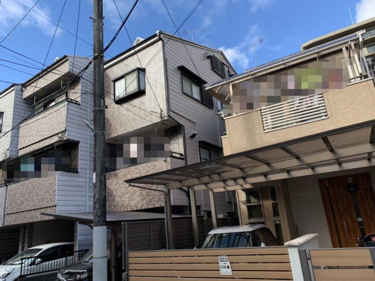 東大阪市M様邸 外壁塗装工事事例