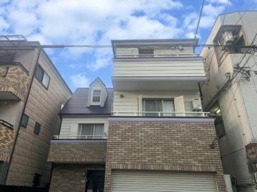 東大阪市K様 外壁・屋根塗装、防水工事事例