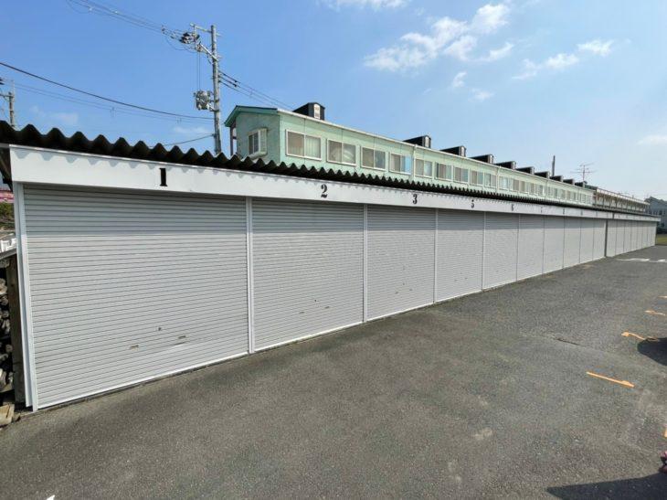 八尾市 ガレージ倉庫塗装工事事例