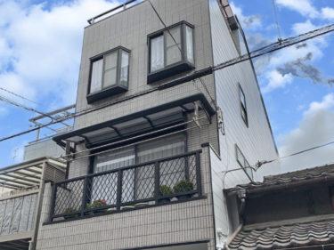 生野区N様邸 外壁・屋根塗装、防水工事、シーリング打ち替え工事事例