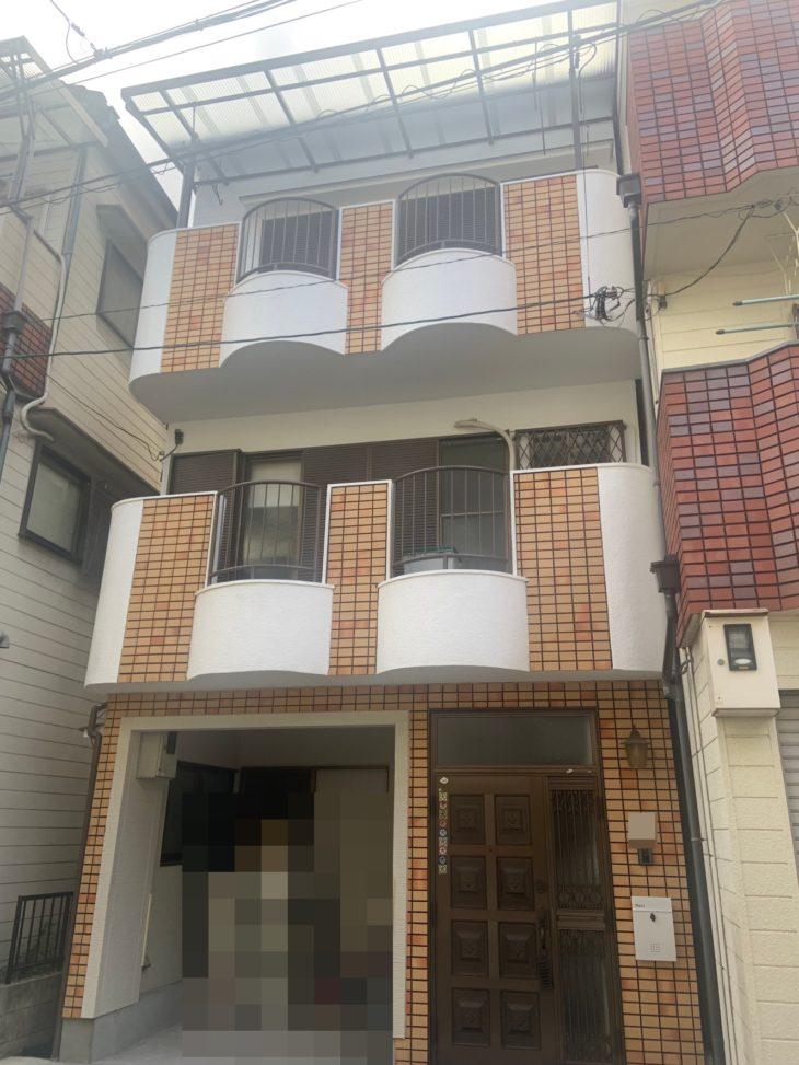 住吉区H様邸 外壁・屋根塗装工事事例